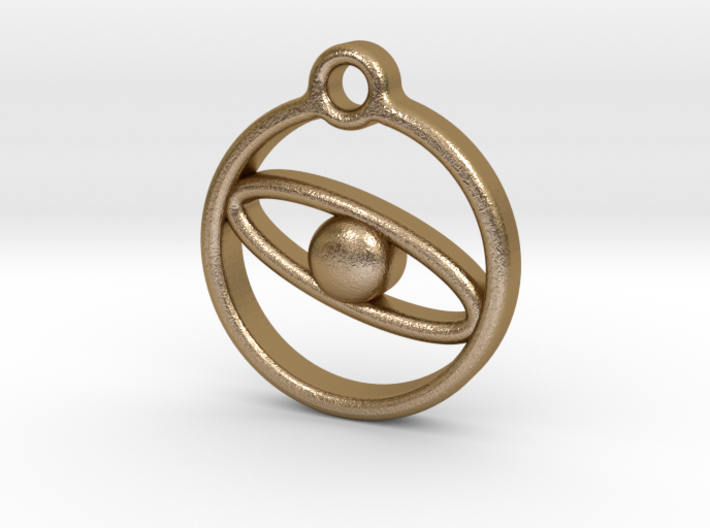 Planet necklace  3d printed