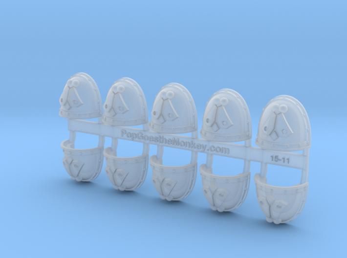 Fly - Gen2:Crusader Shoulder x10 3d printed
