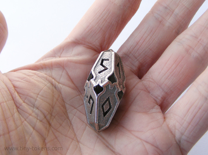 Amonkhet D10 Spindown Life Counter - Small, 3d printed