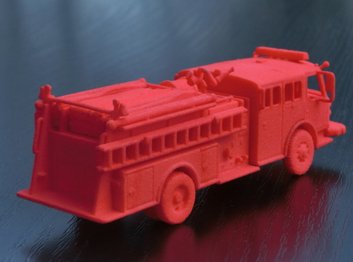 ALF Century 2000 1:64 3d printed The photos shows the 1:87 version