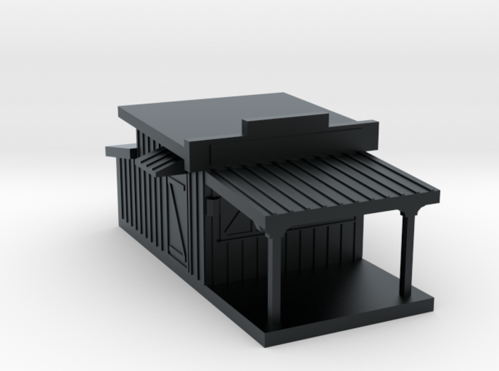 N Scale Stage Coach Shop 3d printed