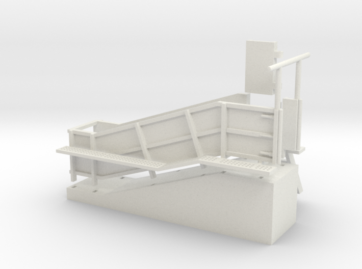 1/64 Cattle Loading Chute 3d printed