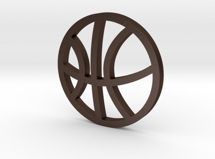 Sports Pendant - Basketball 3d printed