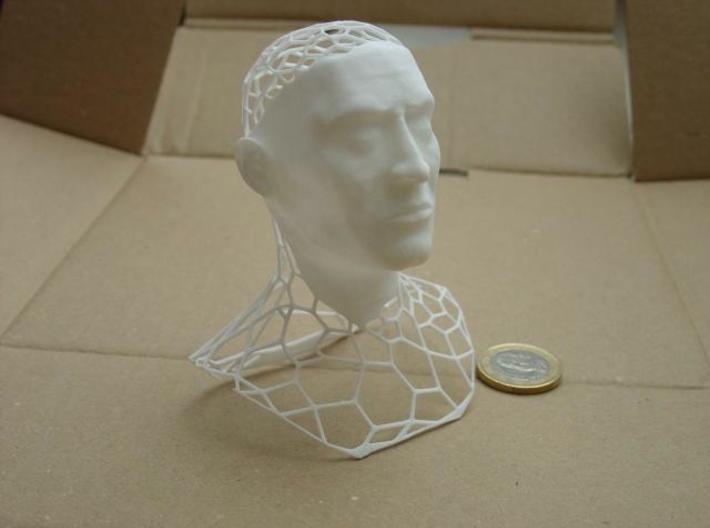 King Polygon 3d printed the printed model