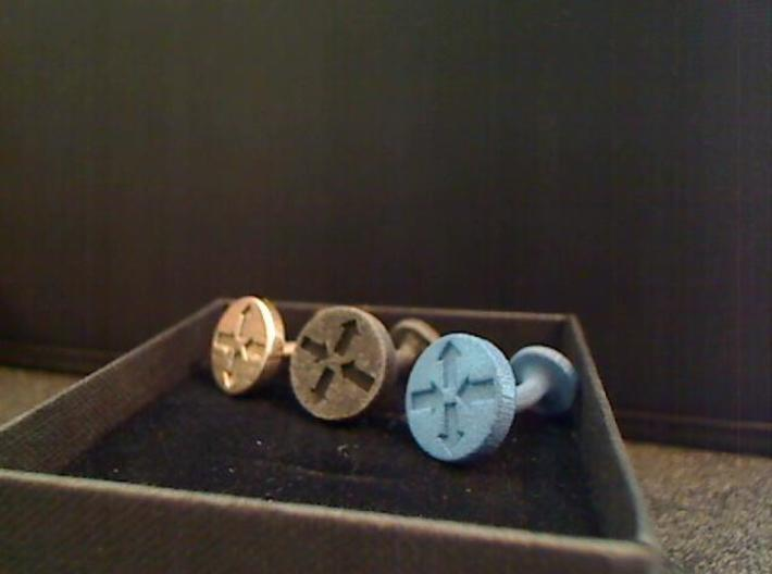 Router Puck Network Cuff links 3d printed All 3