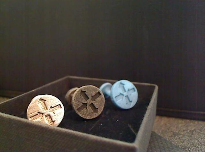 Router Puck Network Cuff links 3d printed All 3c