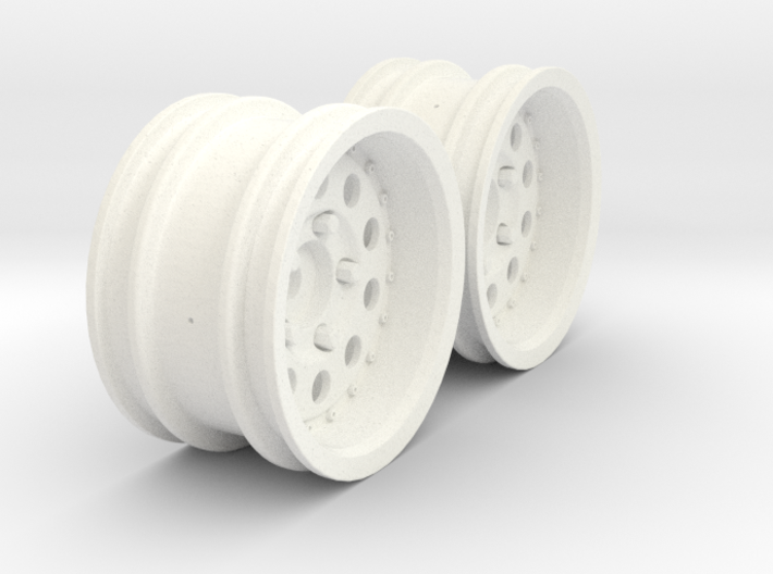 Wheels - M-Chassis - 037 Style - 6mm Offset 3d printed