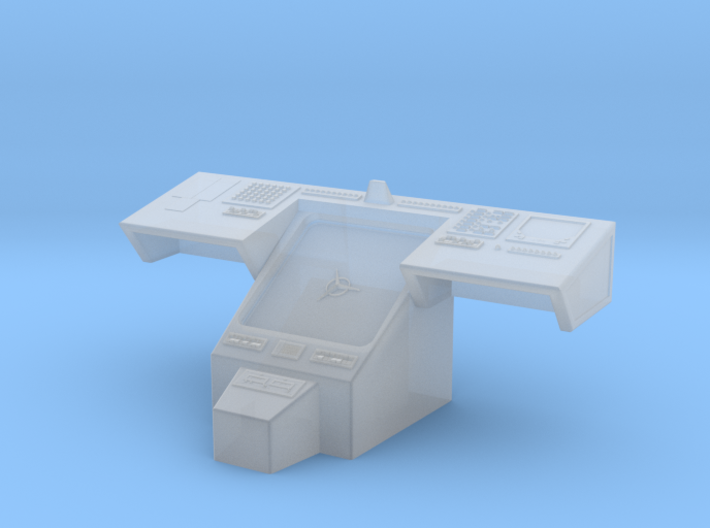 Bridge - Helm Nav Station 72 3d printed