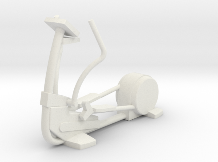 1:48 Elliptical 3d printed