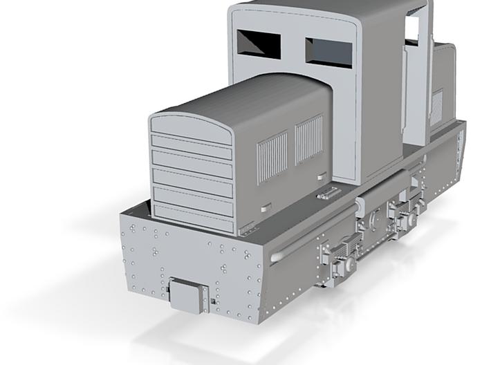 Porteclé - Locotracteur Billard T75D 3d printed