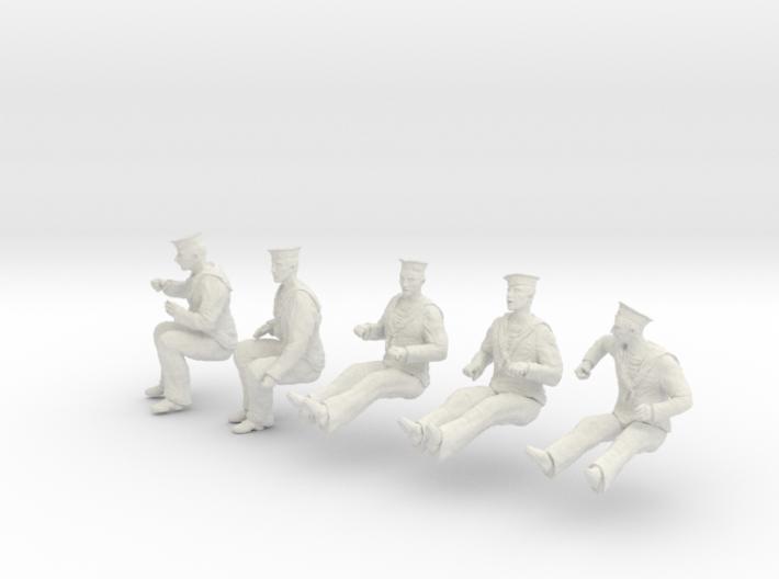 1-30 Royal Navy Sailors Set1-6 3d printed