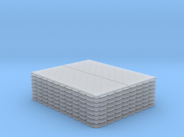 1/48 HCU-6E Single Pallets x8 MSP48-002 3d printed