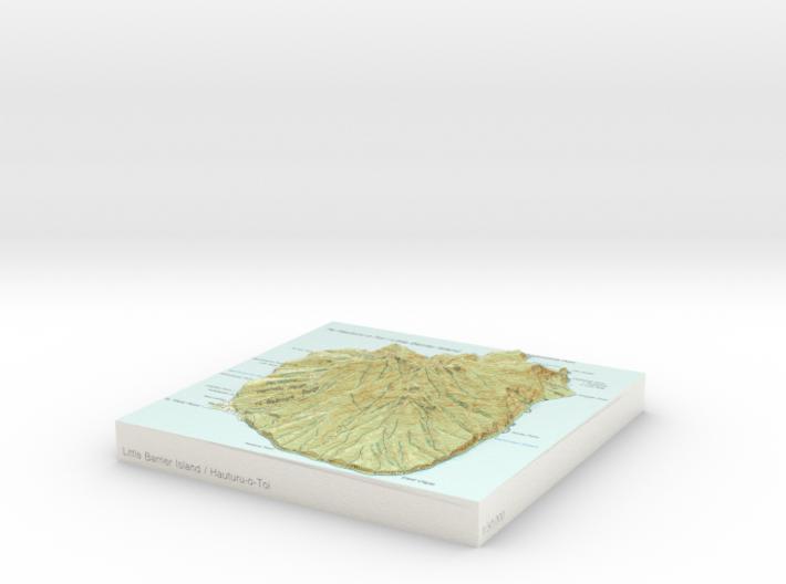 Little Barrier / Hauturu-o-Toi - 15cm / 1:50k 3d printed