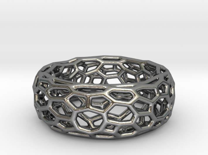Ring Monoronoi 3d printed