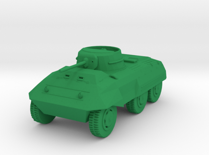 1/87 Scale M8 Scout Car 3d printed