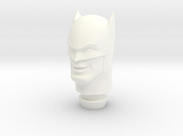1:9 Scale Batman Head 3d printed