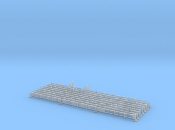 Yard Fence Z Scale 3d printed Yard Fence Z scale