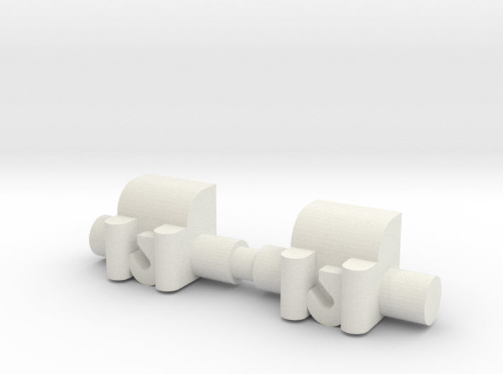 Winch 2 Pack 1-87 HO Scale 3d printed