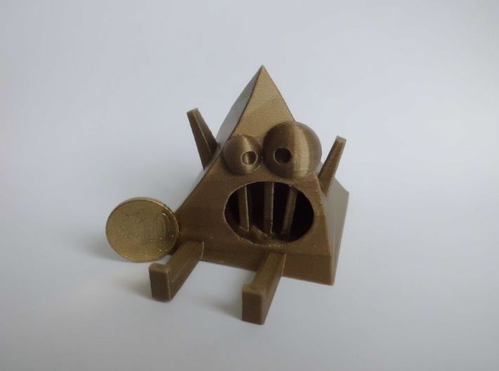 Crazy Pyramid | Monster Toy 3d printed