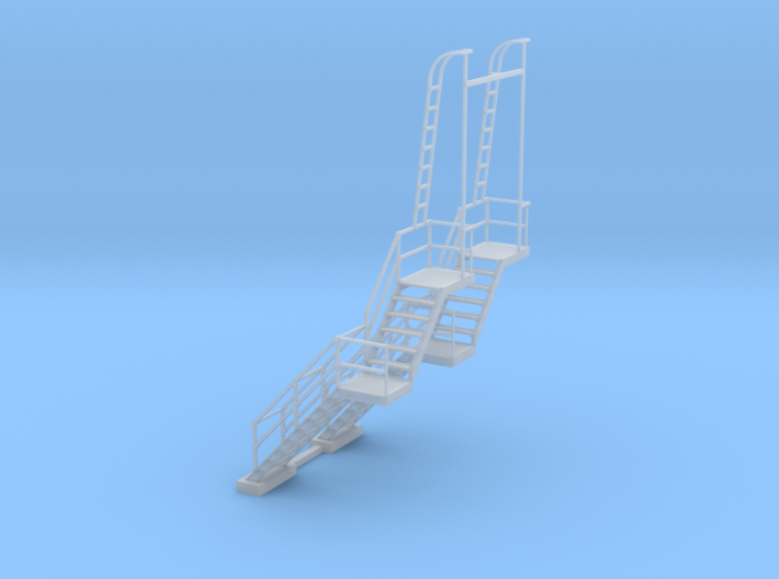 NYC - CR & PF Towers - Stair (2X) 3d printed
