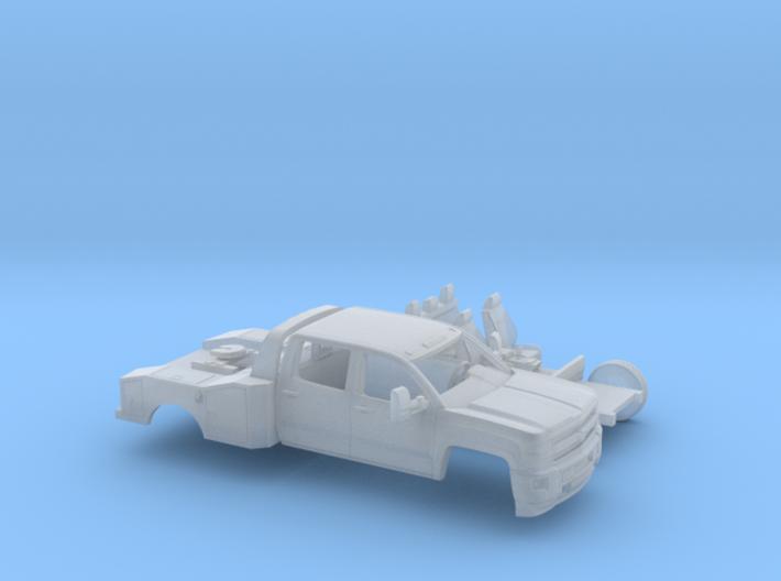 1/160 2015 Chevrolet Silverado Dually HD Fith Whee 3d printed