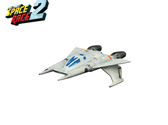 Space Race - #3 - Starfighter 3d printed Painted Starfighter