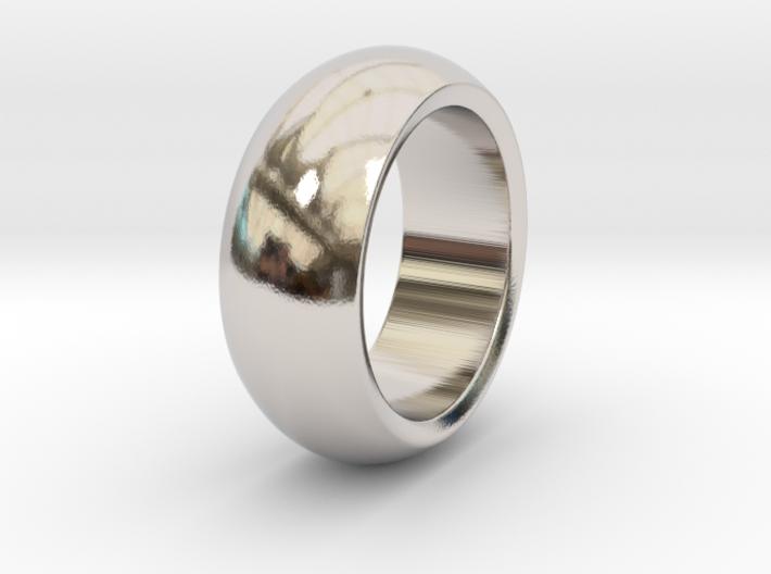 Ralph - Slick Ring Massiv 3d printed