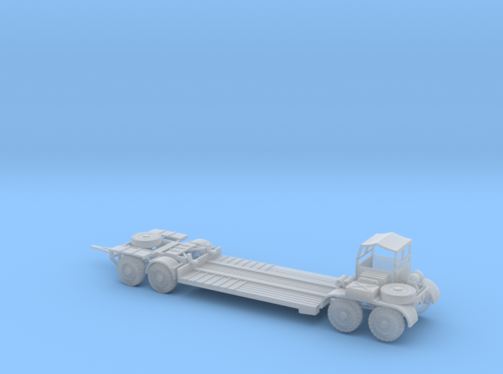 1/144 Sd Anh. 116 German tank transporter for Famo 3d printed