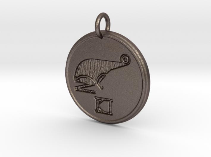 Riven Pendant Set - Frog (3 of 5) 3d printed