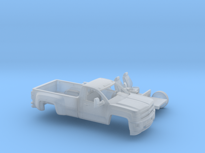1/160 2015 Chevrolet Silverado HD Reg. Cab Long Be 3d printed
