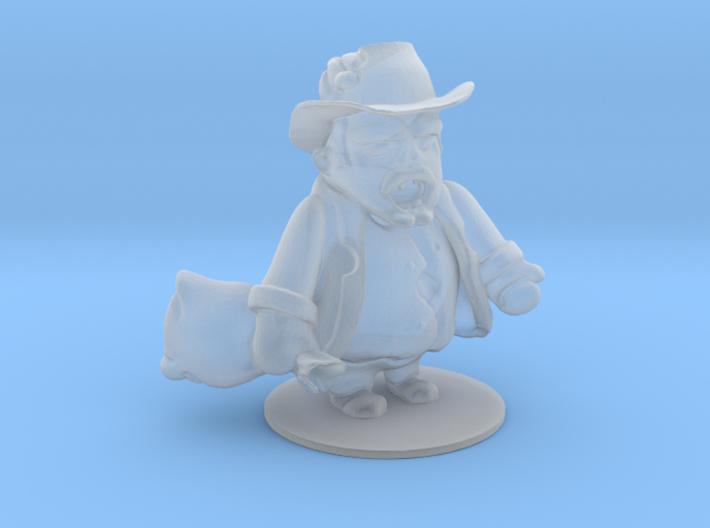 Cowboy Zombie 3d printed