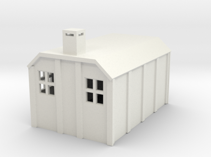 G-87-sr-concrete-hut-1 3d printed