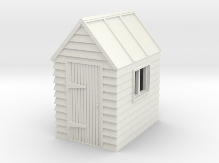 G-87-garden-shed-1 3d printed