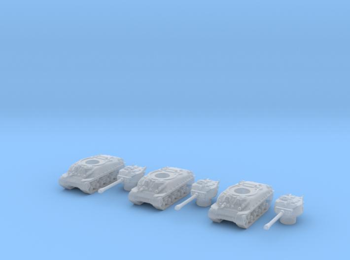 M4A3 HVSS 1/350 3d printed