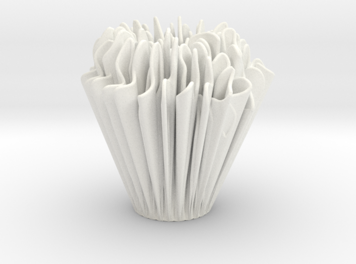 Exponential Growth Vase 3d printed