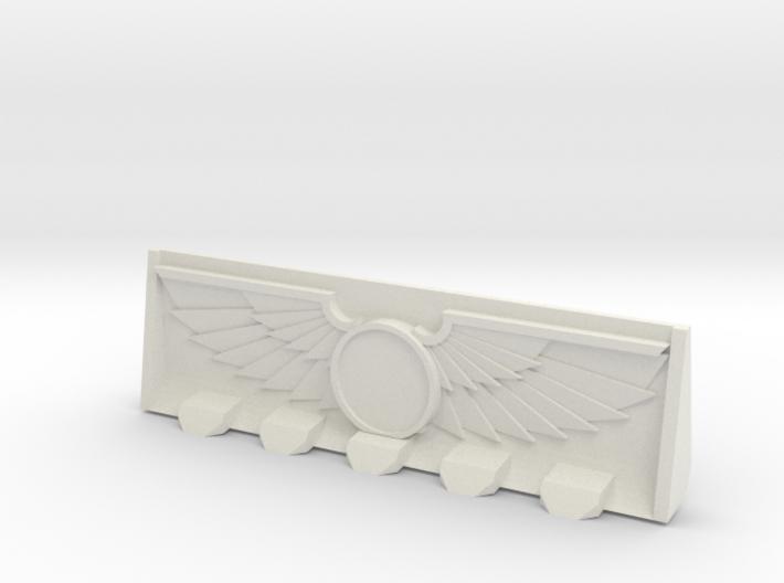 Devotional Bulldozer Blade 3d printed