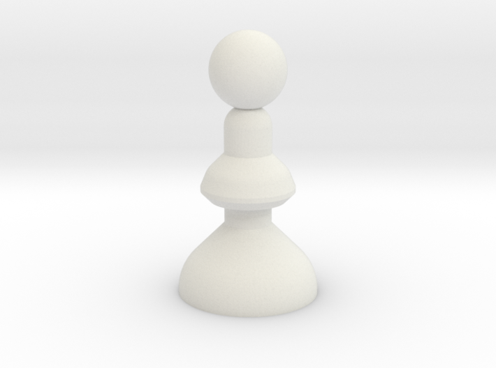Chess Pawn 3d printed