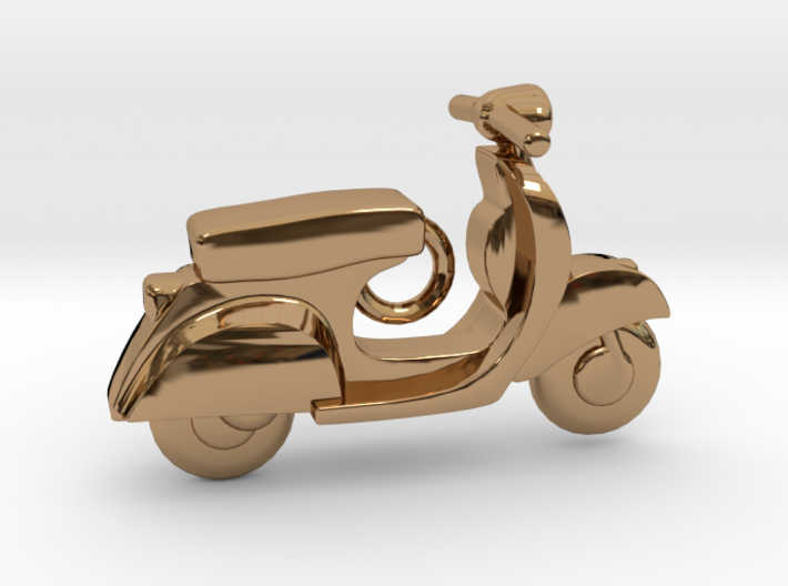 Scooter Pendant 3d printed