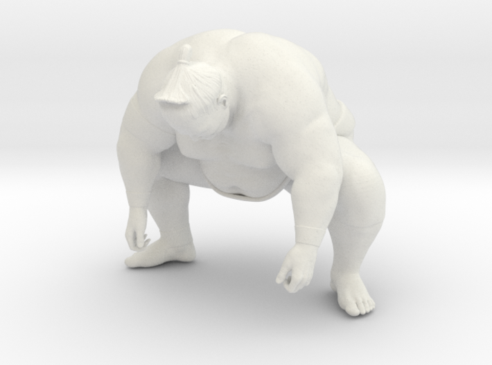Japanese Sumo 005 3d printed