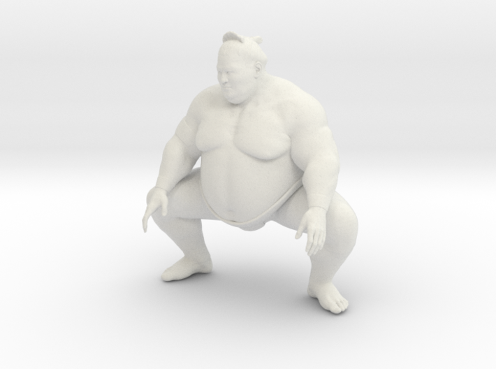 Japanese Sumo 015 3d printed