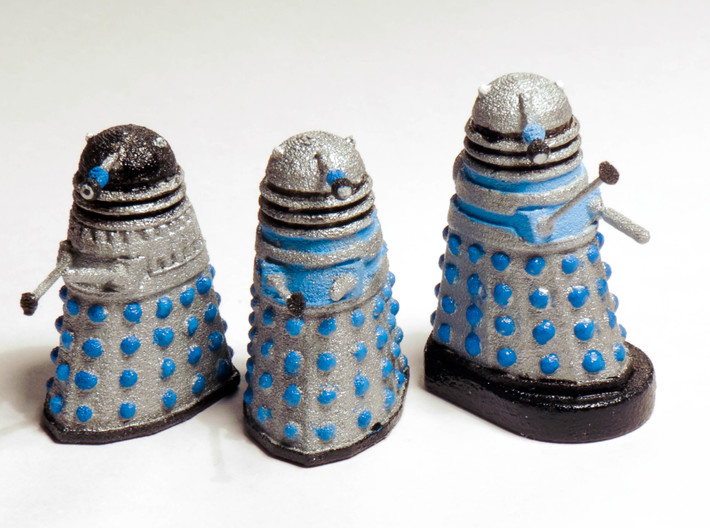 Dalek Mk I - Neutral Pose 3d printed Painted prints (only middle unit included)