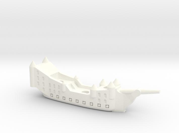 Fantasy Fleet Galleon 3d printed