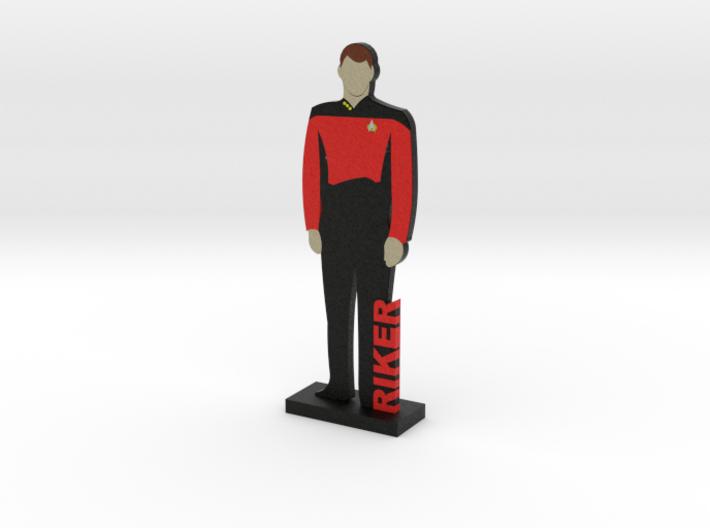 Commander Johnathan Riker = DESKAPADES = 3d printed
