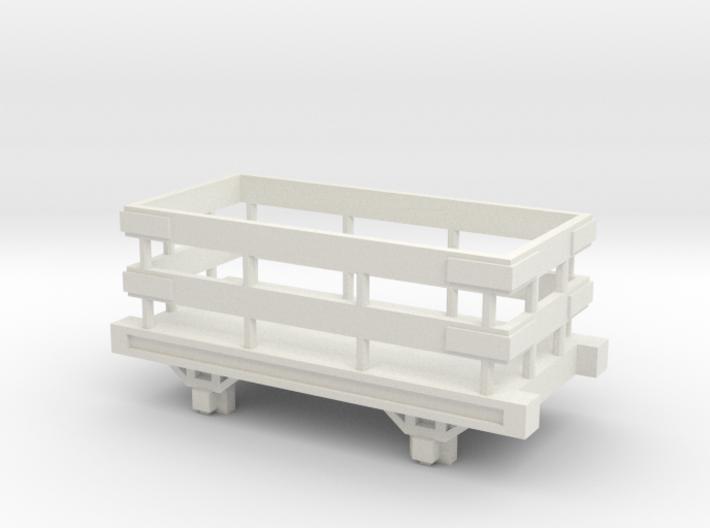 OO9 Narrow Gauge Slate Truck Talyllyn / SR 3d printed