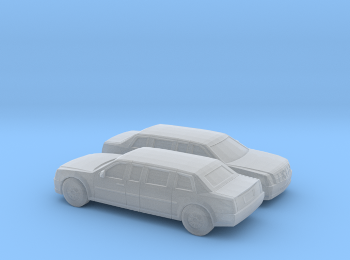 1/200 2X 2009 Cadillac Presidential State Car 3d printed