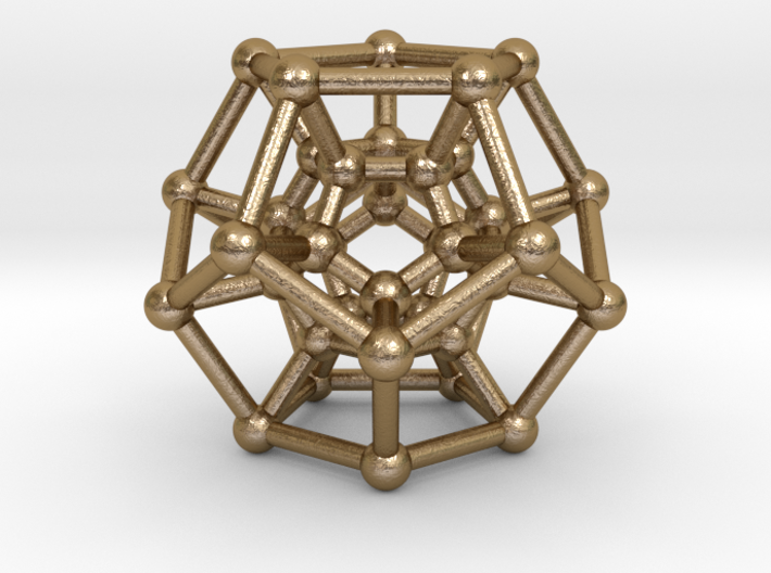 Hyper Dodecahedron 3d printed