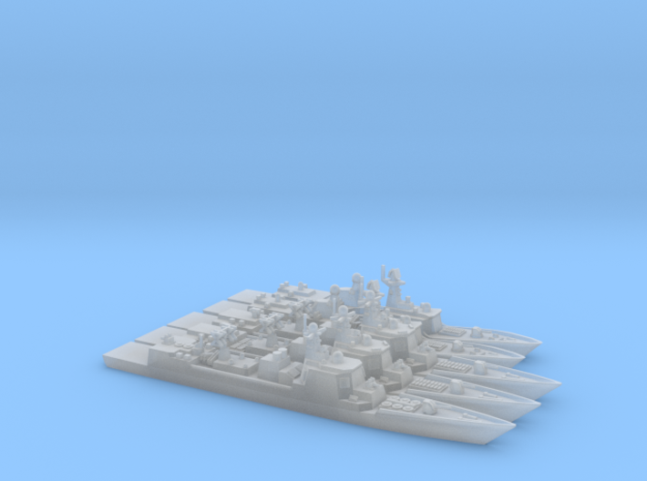 PLAN Modern FFG+DDG HD Pack #1, 1/1800 3d printed