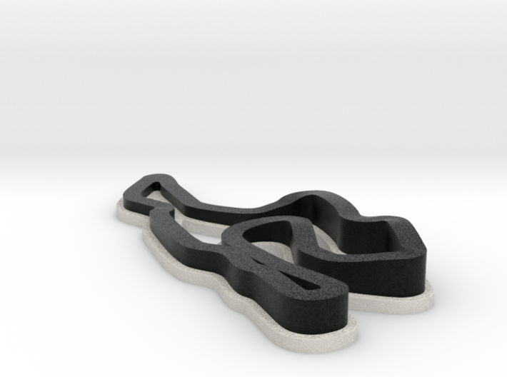 Sonoma Raceway | Topographic 3d printed