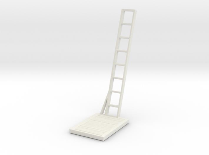 S scale 1:64 Maintenance Platform v6 3d printed