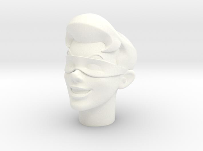 1:6 Scale Robin Head 3d printed
